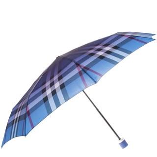 Burberry Ombre Check Folding Packable Umbrella