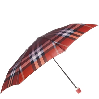 Burberry Ombre Check Folding Packable Umbrella
