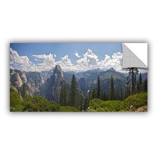 ArtWall Dan Wilson ' Yosemite-Half Dome And Nevada Falls ' Art Appealz Removable Wall Art