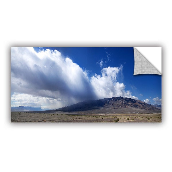 ArtWall Dan Wilson ' Storm In Death Valley ' Art Appealz Removable Wall Art