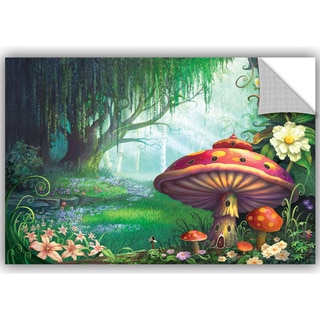 ArtWall Philip Straub ' Enchanted Forest ' Art Appealz Removable Wall Art