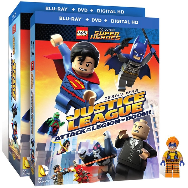Lego DC Comics Super Heroes: Justice League: Attack of The Legion of Doom! (Blu-ray/DVD) 15572624
