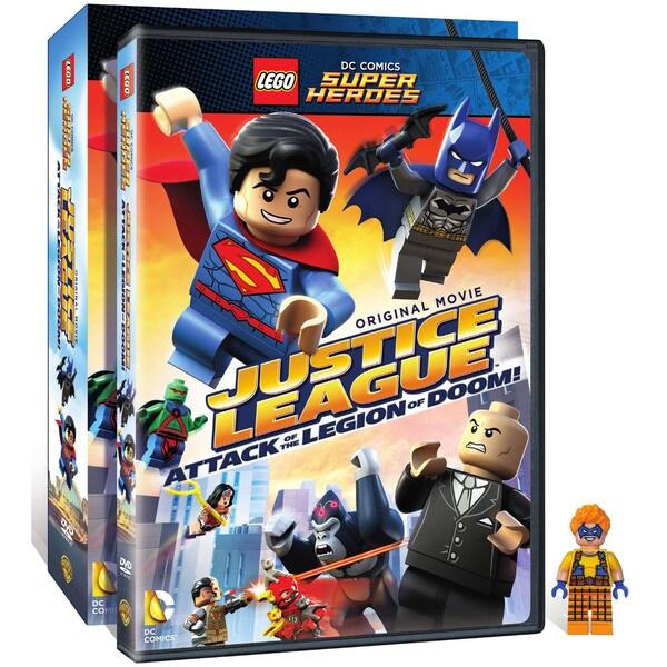 Lego DC Comics Super Heroes: Justice League: Attack of The Legion of Doom! (DVD) 15572625
