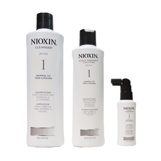 Nioxin System 1 Thinning Hair Kit for Normal to Thin Hair