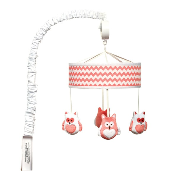 Trend Lab Coral Chevron Mobile