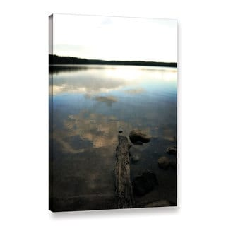 ArtWall Kevin Calkins ' Reflections On The Lake ' Gallery-Wrapped Canvas