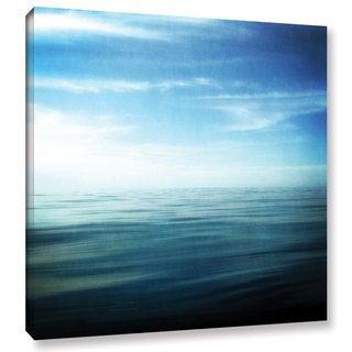 ArtWall Kevin Calkins ' Lake And Sky ' Gallery-Wrapped Canvas