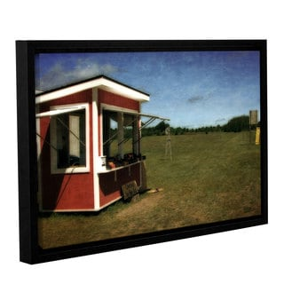ArtWall Kevin Calkins ' Cherries By The Lug ' Gallery-Wrapped Floater-Framed Canvas