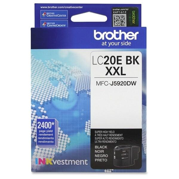 Brother LC-20EBK Ink Cartridge - Black