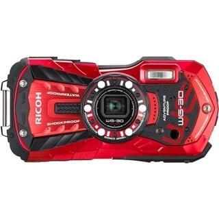 Pentax WG-30 16 Megapixel Compact Camera - Red