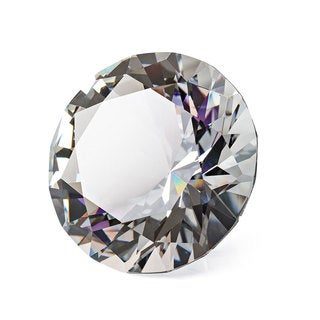 Crystal Diamond Decorative Accent