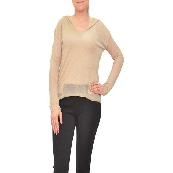 Bellario Light Knitted Longsleeve Hooded Top
