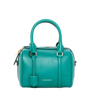 Burberry Small Alchester in Leather Teal
