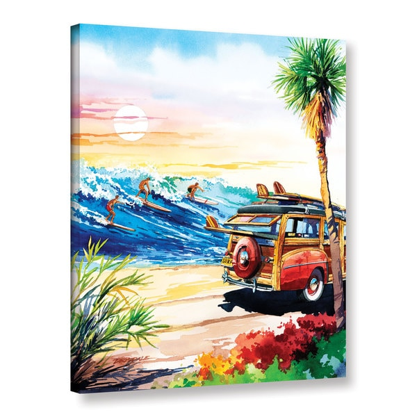 ArtWall Bill Drysdale ' Endless Summer ' Gallery-Wrapped Canvas