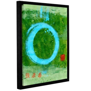 ArtWall Elena Ray 'Strong Tao ' Gallery-Wrapped Floater-Framed Canvas