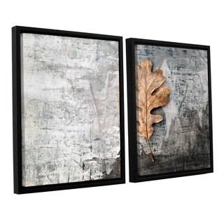 ArtWall Elena Ray ' Still Life Leaf 2 Piece Floater Framed Canvas Set