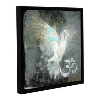 ArtWall Elena Ray 'Om Dove ' Gallery-Wrapped Floater-Framed Canvas