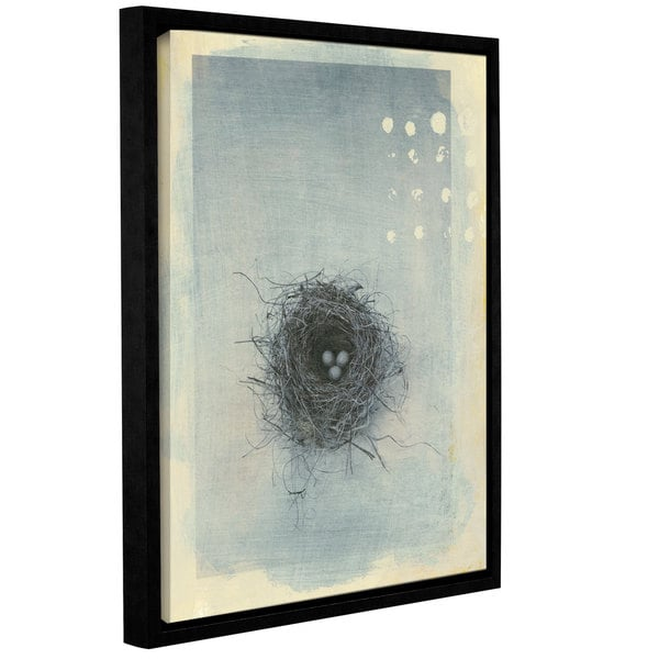 ArtWall Elena Ray 'Neutral Tone Nest ' Gallery-Wrapped Floater-Framed Canvas 15578015