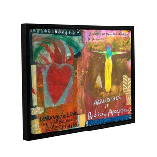 ArtWall Elena Ray ' Art Journal Abundance ' Gallery-Wrapped Floater-Framed Canvas