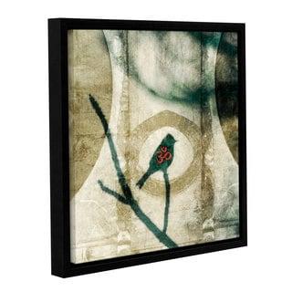 ArtWall Elena Ray ' Yoga Bird ' Gallery-Wrapped Floater-Framed Canvas