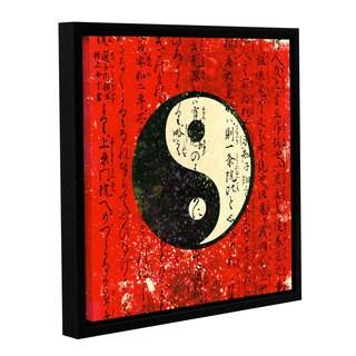 ArtWall Elena Ray ' Yin Yang ' Gallery-Wrapped Floater-Framed Canvas