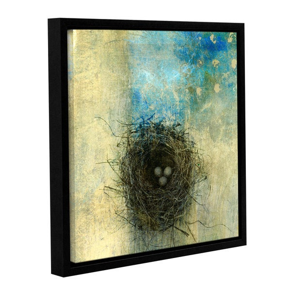 ArtWall Elena Ray ' Bird Nest ' Gallery-Wrapped Floater-Framed Canvas 15578280