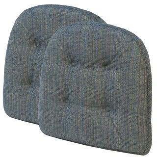 Accord Capri Tufted Chair Pad (Set of 2)
