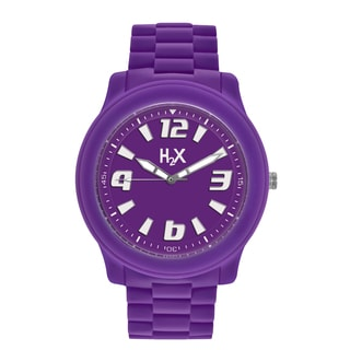 H2X Womens Splash Purple Watch
