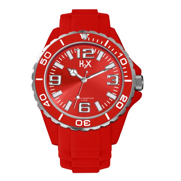 H2X Womens Reef Red Watch