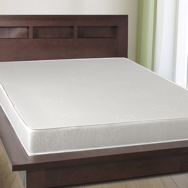 Select Luxury 6-inch Twin-size Airflow Reversible Foam Mattress