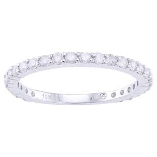 Beverly Hills Charm 10k Gold 2/3ct TDW Diamond Anniversary Ring (H-I, I2-I3)