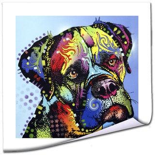 Dean Russo 'Mastiff Warrior' Rolled Paper Art
