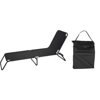 Premium Folding Camp Cot (Black)