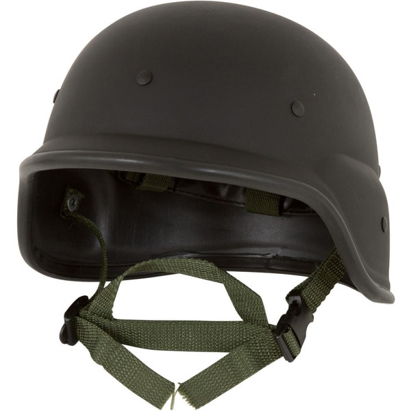 Tactical M88 ABS Tactical Helmet With Adjustable Chin Strap by Modern Warrior Resembles PASGT Kevlar Helmet