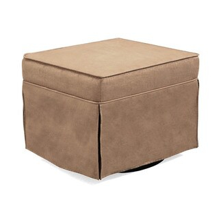 Shermag Black/ Slm Dunk Peat Swivel Upholstered Chair