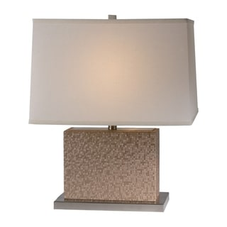 Merge Table Lamp - 22 Inch Sand Mosaic Chamtex