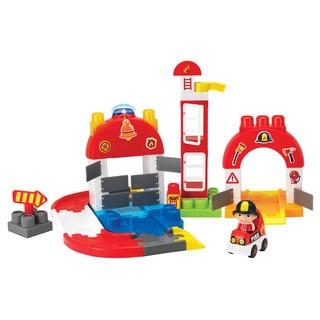 Winfat 65-piece I-Builder Fire Station