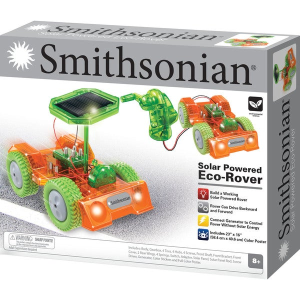 Smithsonian Eco Rover Building Set