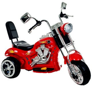 Lil Rider 3-wheel Red Chopper Battery Operated Motorcycle
