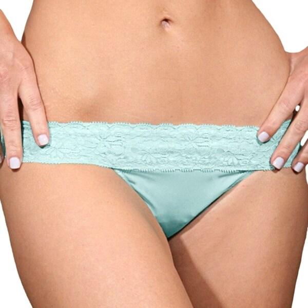 Prestige Biatta Lee Sky Blue Microfiber with Lace Bikini