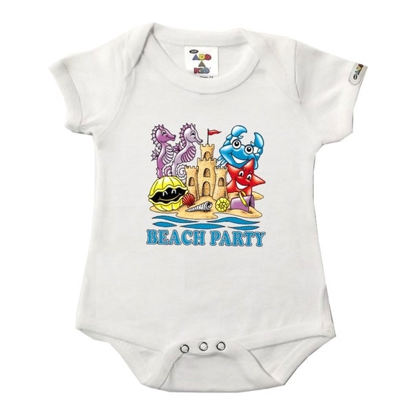 Beach Party White Bodysuit