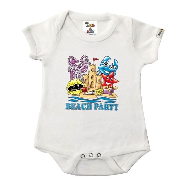 Beach Party White Bodysuit