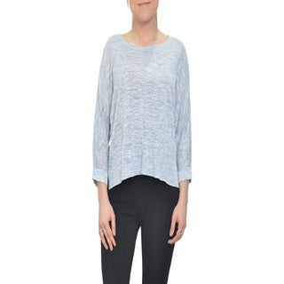 Bellario 3/4 Sleeve Knit Relaxed Fit Top