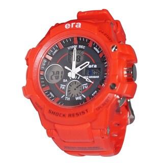 Landon By Era Cobalt Red Digital Water Resistance Watch