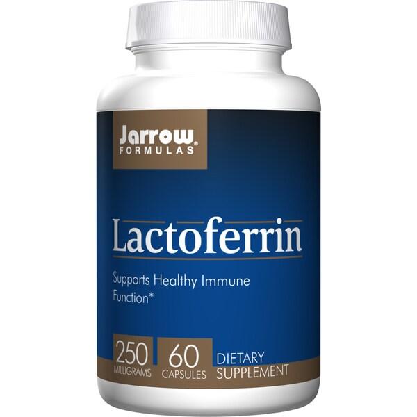 Jarrow Formulas Lactoferrin 250 mg (60 Capsules)
