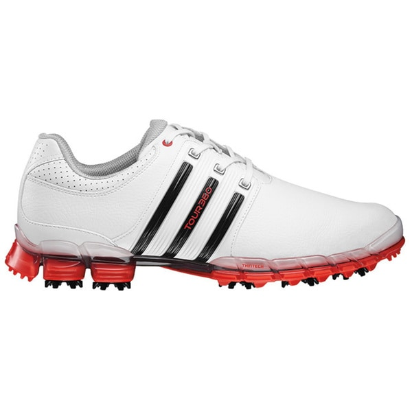 Adidas Men's Tour 360 ATV M1 White/ Black/ Hi-Res Red Golf Shoes