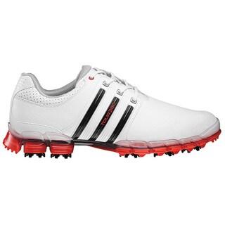 Adidas Men's Tour 360 ATV M1 White/ Black/ Hi-Res Red Golf Shoes