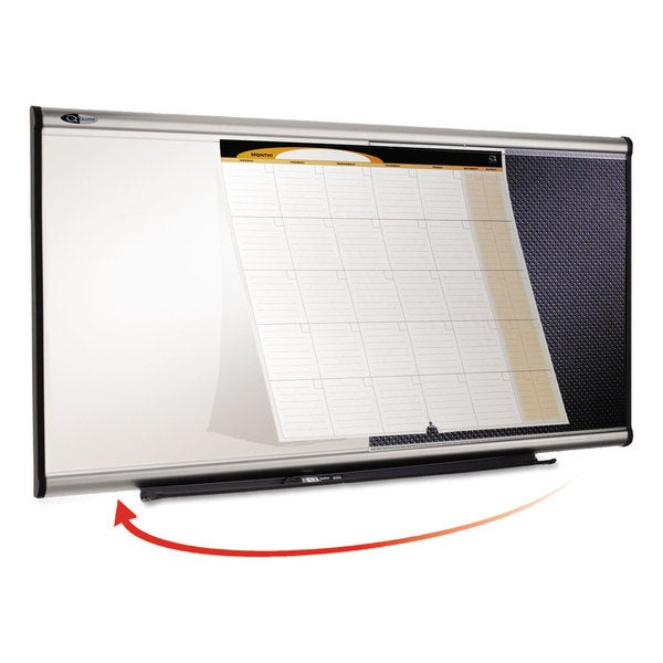 Quartet 3-in-1 Dry Erase/Bulletin/Calendar Board