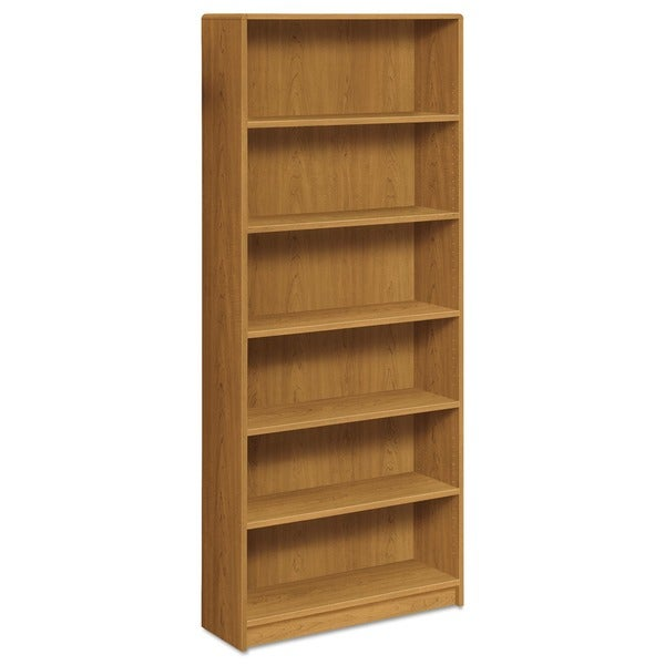 HON 1890 Series Six-Shelf Harvest Bookcase