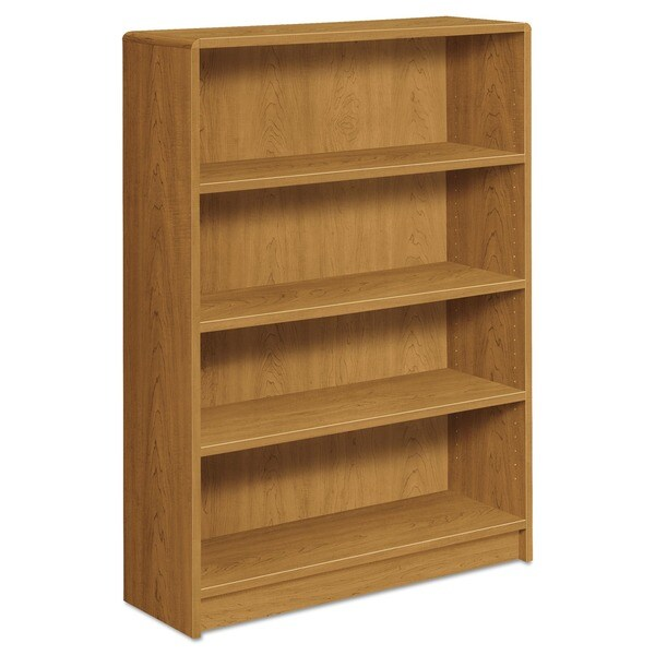 HON 1890 Series Four Shelf Harvest Bookcase